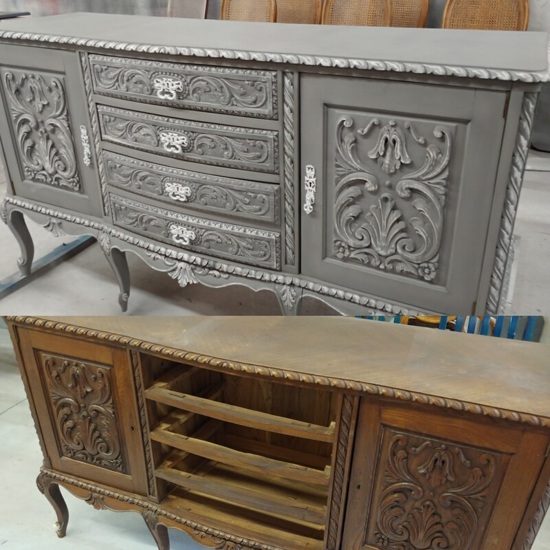 Antique Furniture Supplies Mail: WHIMSICAL FURNISHINGS CLAY CHALK